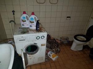 Vervuilde woning schoonmaken